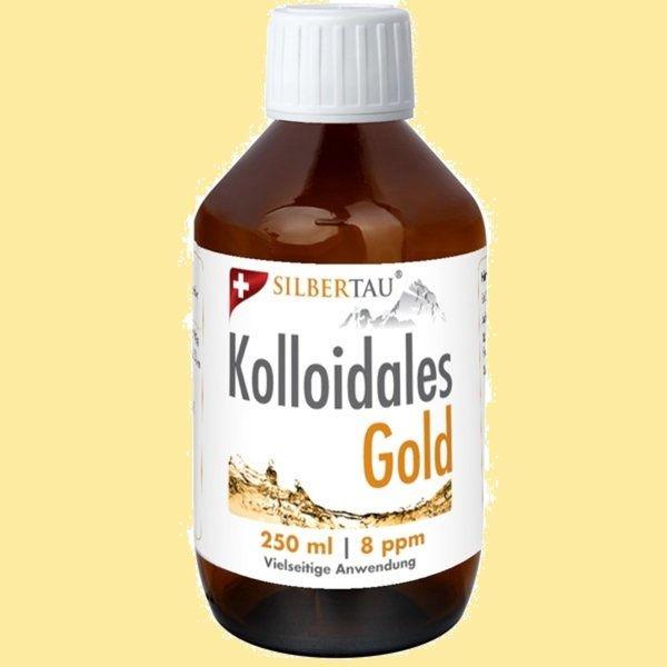 Kolloidales Gold 250ml  8ppm
